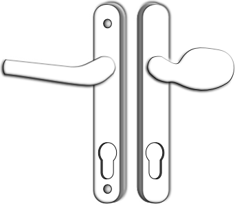 Multipoint Lock Handles -Lever-Pad