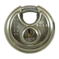 Discus Closed Shackle Padlocks