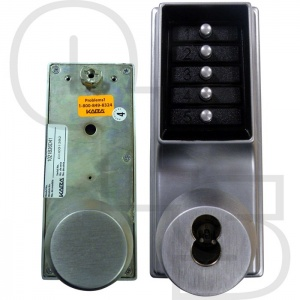 KABA SIMPLEX/UNICAN 1041 SERIES MORTICE LATCH DIGITAL LOCK WITH PASSAGE AND KEY OVERRIDE