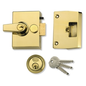 UNION 1097 AUTO DEADLOCKING NIGHTLATCH WITH 40mm BACKSET
