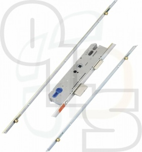 KFV Multipoint Lock - 4 Rollers - 30mm Backset  (Key Wind)