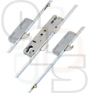 KFV Multipoint Lock - 2 Hooks and 2 Rollers - 35mm Backset