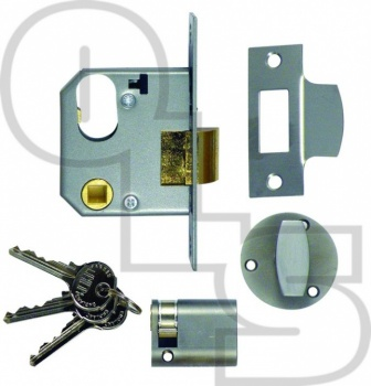 UNION OVAL NIGHTLATCH COMPLETE LOCKSET