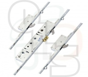 Fab n Fix Multipoint Lock - 3 Hooks and 3 Rollers