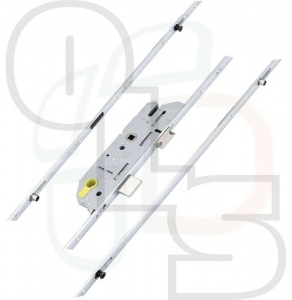 FUHR 855 Type 2 Multipoint Lock - 2 Mushrooms & 2 Rollers - 45mm Backset