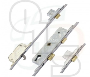 Fullex SL16 Original Multipoint Lock - 3 Deadbolts & 1 Hookbolt -35mm Backset - Flat 16mm Faceplate