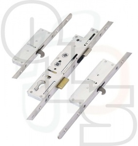 Fullex SL16 Crimebeater Multipoint Lock - Deadbolt & 2 Hookbolts - 55mm Backset