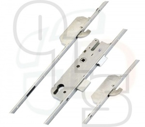 GU Europa Multipoint Lock - 2 Hooks - 35mm Backset