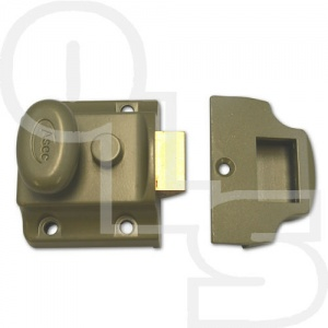 ASEC TRADITIONAL NIGHTLATCH WITH 40mm BACKSET