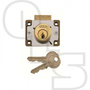 UNION 4147 4 PIN CYLINDER DEADBOLT CUPBOARD/DRAWER LOCK