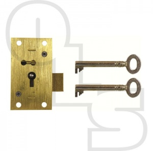 D11 4 LEVER STRAIGHT CUPBOARD LOCK