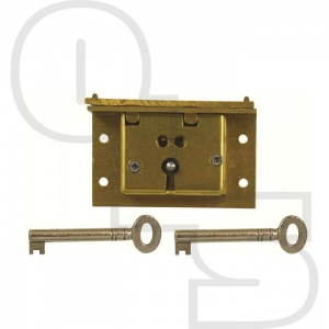 D9 2 LEVER BOX LOCKS