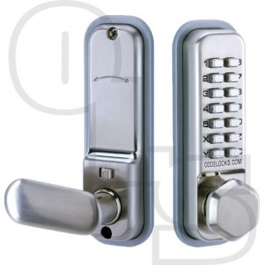 CODELOCKS CL255 MORTICE LATCH DIGITAL LOCK WITH DUAL BACKPLATE