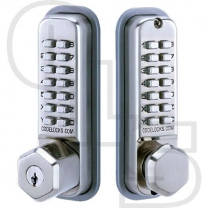 CODELOCKS CL290KEY MORTICE LATCH DIGITAL LOCK WITH BACK TO BACK AND KEY OVERRIDE