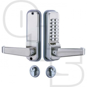 CODELOCKS CL425 MORTICE LOCK WITH CYLINDER AND ANTI PANIC SAFETY FUNCTION AND CODE FREE