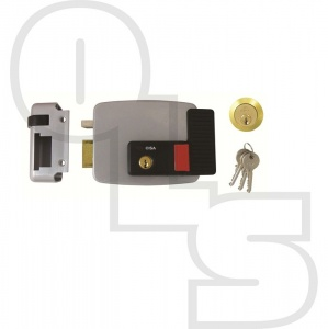 CISA 11630 ELECTRIC RIM LOCK WITH HOLD BACK  FOR TIMBER DOORS