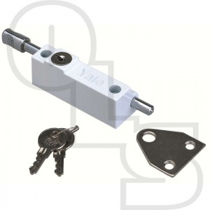 YALE P124 PATIO DOOR LOCK