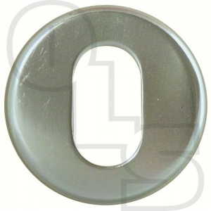 PAA CONCEALED FIX OVAL ESCUTCHEON
