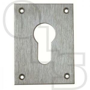 SOUBER EE1/4 LARGE SCREW ON EURO ESCUTCHEON