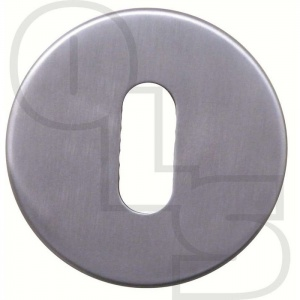 STAINLESS STEEL CONCEALED FIX UK ESCUTCHEON