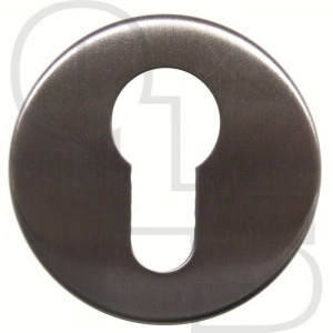 STAINLESS STEEL CONCEALED FIX EURO ESCUTCHEON