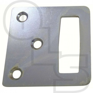 KEEP PLATE FOR GATEMASTER EURO DEADBOLT