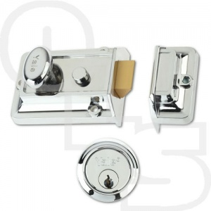 YALE 77 TRADITIONAL NIGHTLATCH WITH 60mm BACKSET
