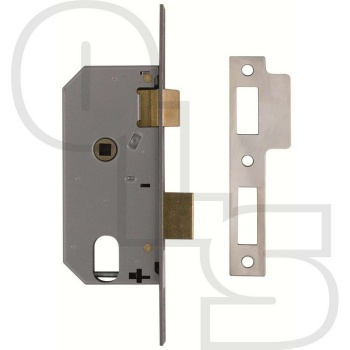 UNION L2278 DOUBLE THROW OVAL SASHLOCK CASE