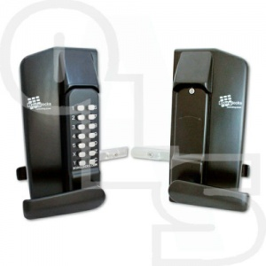 BORG BL3400 LEVER OPERATED METAL GATE SINGLE DIGITAL LOCK