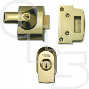 YALE PBS2 HIGH SECURITY NIGHTLATCH WITH 40mm BACKSET