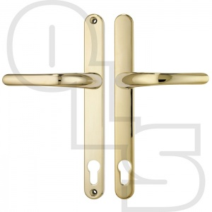 MILLENCO UPVC/MULTIPOINT DOOR HANDLE - SPRUNG - LEVER/LEVER