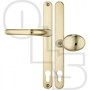 MILLENCO UPVC/MULTIPOINT DOOR HANDLE - SPRUNG - LEVER/PAD