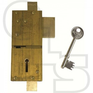 UNION 21077 5 LEVER GLASS DOOR LOCK
