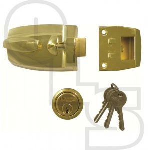 LEGGE 727  DEADLOCKING NIGHTLATCH WITH 44mm BACKSET