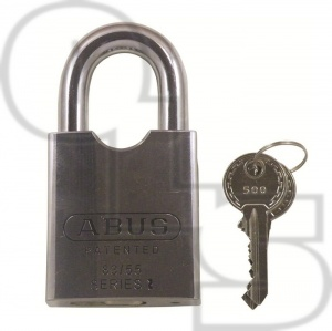 ABUS 83/55 SERIES ROCK STANDARD SHACKLE STEEL PADLOCKS