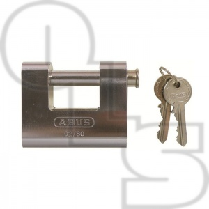 ABUS 92 SERIES ARMOURED SHUTTER PADLOCKS