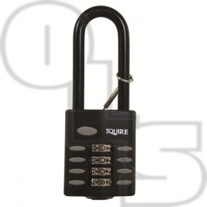 SQUIRE CP125 RECODEABLE COMBINATION PADLOCKS 2.5'' SHACKLE