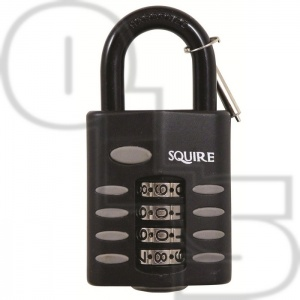 SQUIRE CP1 RECODEABLE COMBINATION PADLOCKS STANDARD SHACKLE