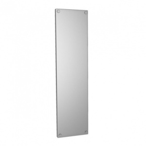 PRESSED FACE FIX FINGER PLATE - 300mm x 75mm