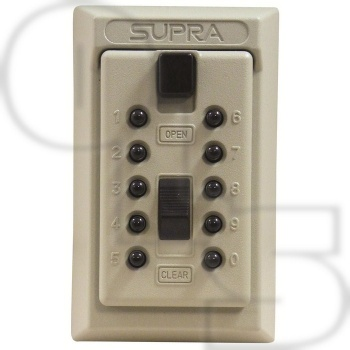 SUPRA PERMANENT KEY SAFE