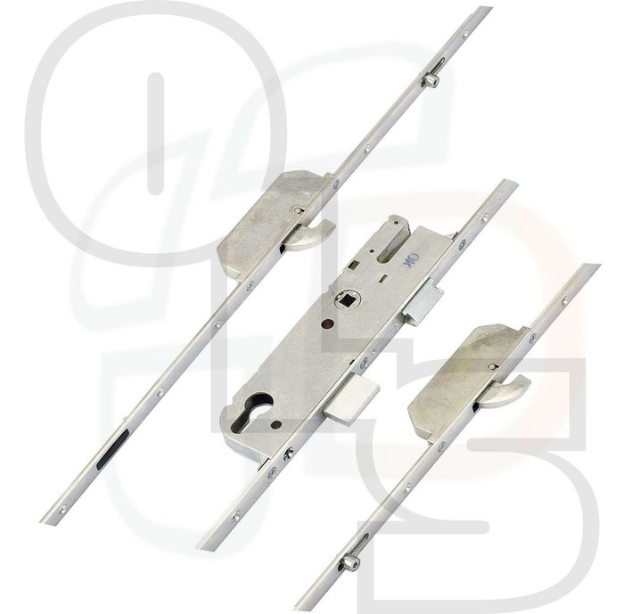 Gu Europa Multipoint Lock 2 Hookbolts And 2 Outboard