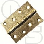 CROMPTON HEAVY DUTY STEEL BUTT HINGE - 76mm x 64mm