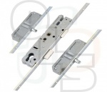 KFV Multipoint Lock - 2 Pins - 35mm Backset - 24mm U-Rail Faceplate (Key Wind)
