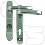 ASEC  PAS24 2 STAR 220mm LEVER/LEVER MULTIPOINT DOOR HANDLES