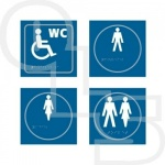Taktyle (Braille) Facilities Signs