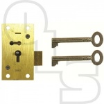 D10 2 LEVER STRAIGHT CUPBOARD LOCK