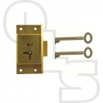 D7 2 LEVER CUT CUPBOARD LOCK