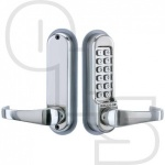 CODELOCKS CL515BB TUBULAR MORTICE LATCH BACK TO BACK WITH CODE FREE