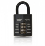 SQUIRE CP40 RECODEABLE HIGH SECURITY COMBINATION PADLOCK - STANDARD SHACKLE