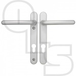 FAB & FIX WINDSOR UPVC/MULTIPOINT DOOR HANDLE - UNSPRUNG - LEVER/LEVER